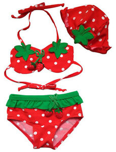3pcs-Baby-Girl-Kids-Hat-Bra-Shorts-Swimsuit-Bikini-Strawberry-Swimwear-Clothes