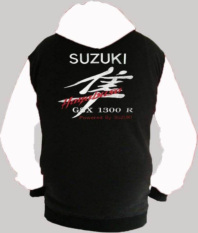 Suzuki Hayabusa Fan Kapuzenjacke Hoodie Lieferz. siehe Beschreibung