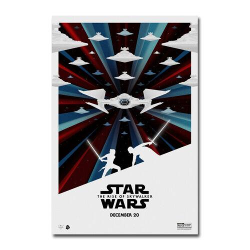 Star Wars The Rise of Skywalker Movie Canvas Art Silk Poster Print 24x36 inch