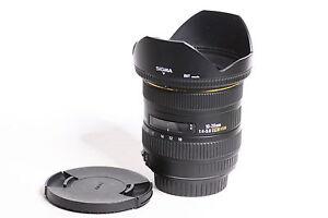 Analoge Fotografie Foto & Camcorder Sigma Ex 10-20mm 1:4-5.6 Dc Hsm FÜr Canon