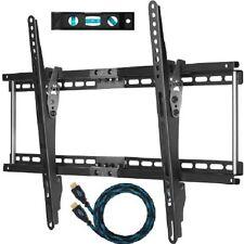 Wall Mount TV Cheetah APTMM2B Mounts TVS Bundle 10 Feet Bracket 20-75 Inch Tilt