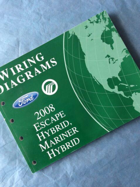 2008 Ford Escape Mercury Mariner Hybrid Electrical Wiring