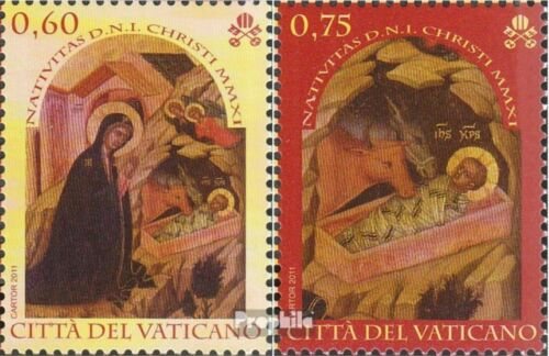 Vatican 17281729 unmounted mint never hinged 2011 christmas Paintings