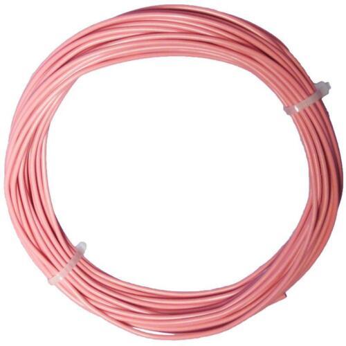 10m toron rosa Câble einadrig flexible 0,5mm² Câble 0,34 €//m