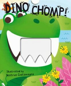 Dino-Chomp-Hardcover-by-Costamagna-Beatrice-ILT-Brand-New-Free-shippin