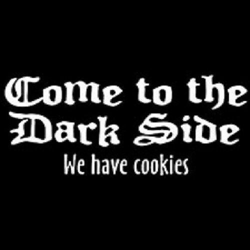 Come To The Darkside... Tshirt    Sizes/Colors