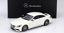 GT Spirit Mercedes Benz S63 AMG Coupe White Dealer LE 1000pcs 1:18*New item!