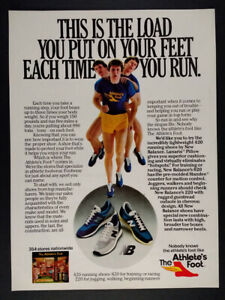 1980 New Balance 620 420 220 Running Shoes The Athlete's Foot ...