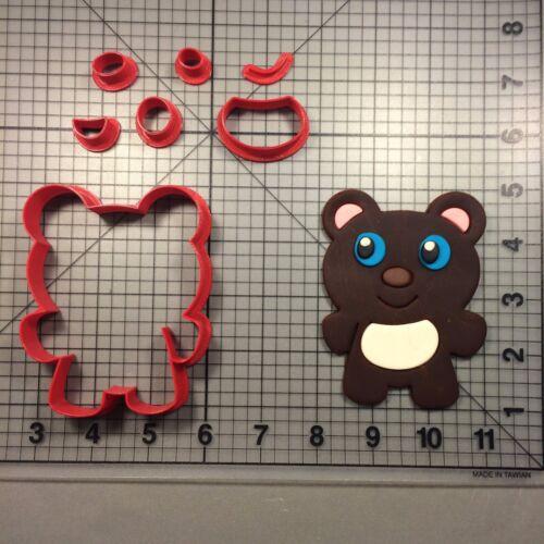 Bear 104 Cookie Cutter Set