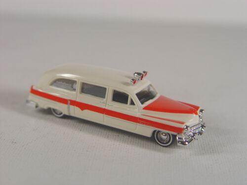 Busch HO  1:87  Modell 43457   #E US Ambulance Einsatzfahrzeug