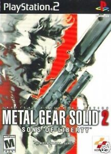 METAL-GEAR-SOLID-2-SONS-OF-LIBERTY-SONY-FOR-PS2-PS3-GAME-ENGLISH