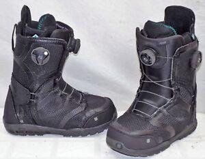 71f45ccd5e9 15-16 Burton Felix Boa Used Women s Snowboard Boots Size 6  568773 ...