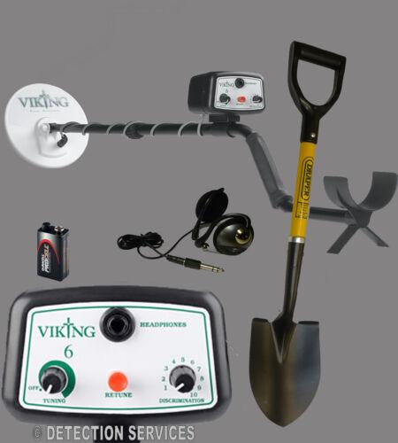 "Viking 6 metal detector cercametalli Non-Motion eliminazione metalli 8/"" DD"