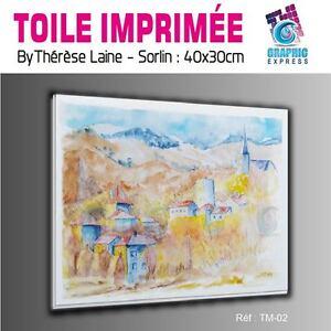 TOILE-IMPRIMEE-40x30-cm-IMPRESSION-SUR-TOILE-TM-02-PAYSAGE-MONTAGNE-NATURE