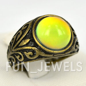 new awesome mood ring retro multi colored change in