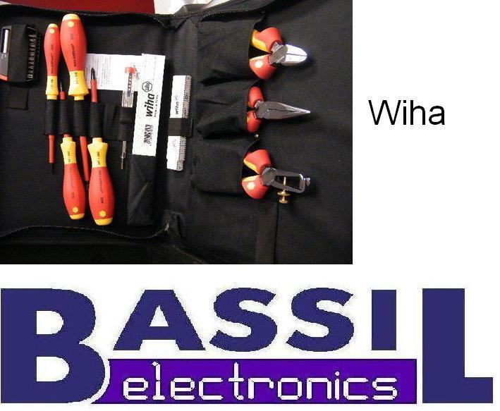 Wiha VDE-Werkzeug 12-tlg. in praktischer Werkzeugtasche