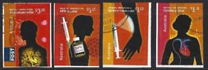 AUSTRALIA-2020-MEDICAL-INNOVATIONS-SET-OF-4-SELF-ADHESIVE-FINE-USED