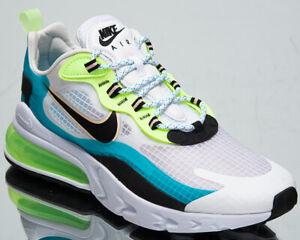 Details about Nike Air Max 270 React SE Men's Oracle Aqua Black White  Lifestyle Sneakers Shoes