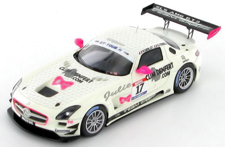 Mercedes SLS GT3 Derlot Derlot Derlot - Tonelli GT Tour France 2011 1 43 - SF020 78a774