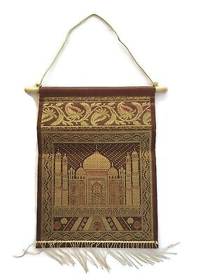 """Other Home Organization Indian Silk Wall Hanging Tapestry Pocket Brocade Letter Magazine Holder Mail 14"""" Complete In Specifications Home Organization"""