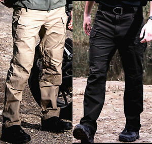 Mens-Combat-Tactical-Cargo-Forces-Work-Army-Pants-Military-Camouflage-Trousers