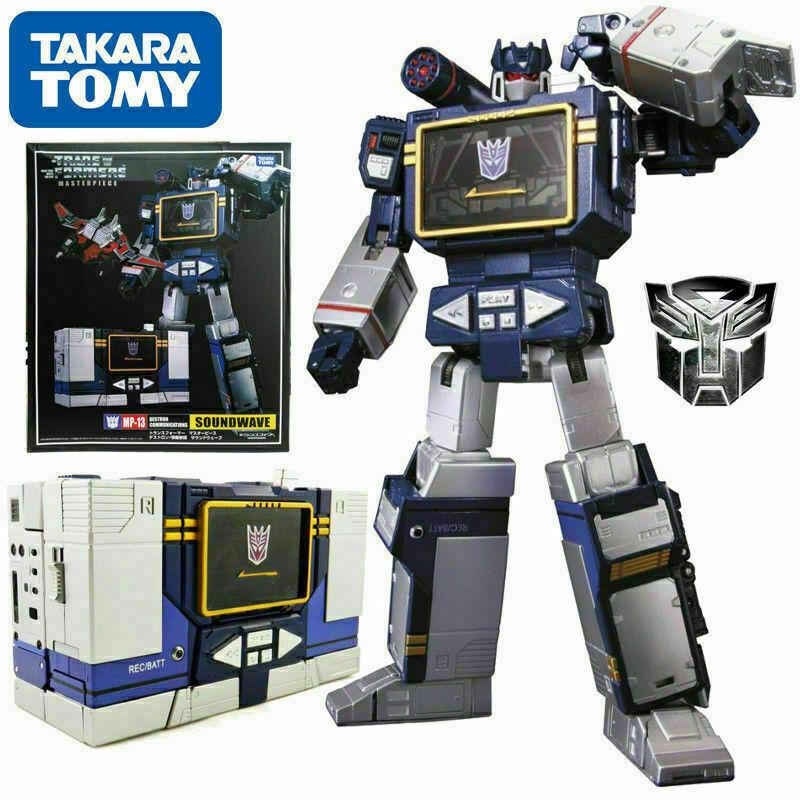 Transformers Masterpiece MP-13 suonowave destron comunicazioni k.o Robot cifra