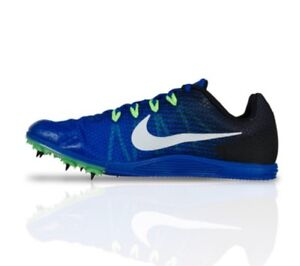 Nike Zoom Rival D 9 Men's Spikes Track Field Racing 806556 413 Blue Size 10.5