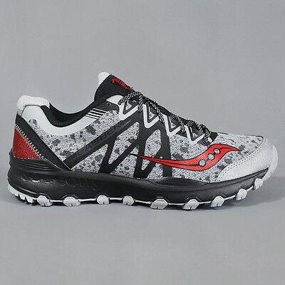 Freundschaftlich Saucony Grid Caliber Trail Shoes Grey / Black / Red Letzter Stil