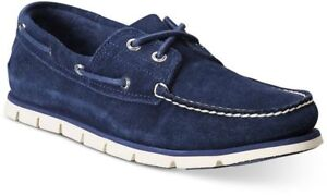 Timberland-Mens-Tidelands-A1HB2-Lace-Up-Casual-Moc-Toe-Comfort-Boat-Shoes