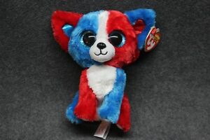 """Ty Beanie Boos Valor The 4th of July Dog 6/"""" MWMT Cracker Barrel for sale online"""
