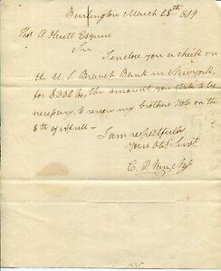 Cornelius-Van-Ness-10th-Governor-of-Vermont-Signed-Autograph-ALS