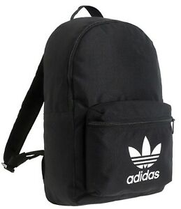 Details about Adidas Originals AC Classic Backpack Bags Black School Casual Laptop Bag ED8667