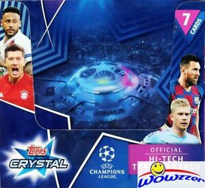 2019-20-Topps-Champions-League-CRYSTAL-24-Pack-HOBBY-Box-168-Cards-IMPORTED