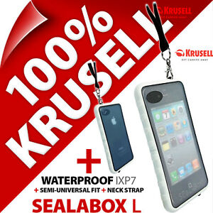 Krusell-Sealabox-L-Funda-para-Iphone-3gs-4-4s-Impermeable-Funda-Telefono-Movil