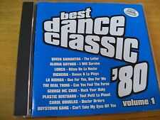 "BEST DANCE CLASSIC 80"" CD LAM BIONDA RIGHEIRA LORCA GLORIA GAYNOR QUEEN SAMANTHA"