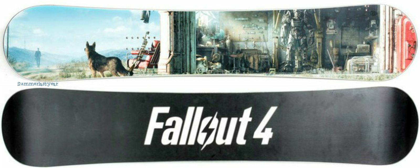 FALLOUT 4  GARAGE   ALL MOUNTAIN FREESTYLE SNOWBOARD  LIMITED EDITION MODEL 153  designer online