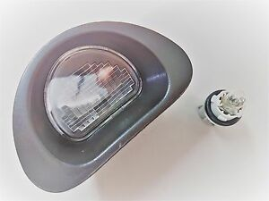 Lampadina Luci Targa : Fanale luce targa per peugeot citroen c lampadina fanalino