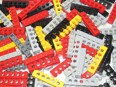 41669 Lego ® Technic Lot x2 Embouts 1x3 Tooth w Axle Hole Choose Color 346