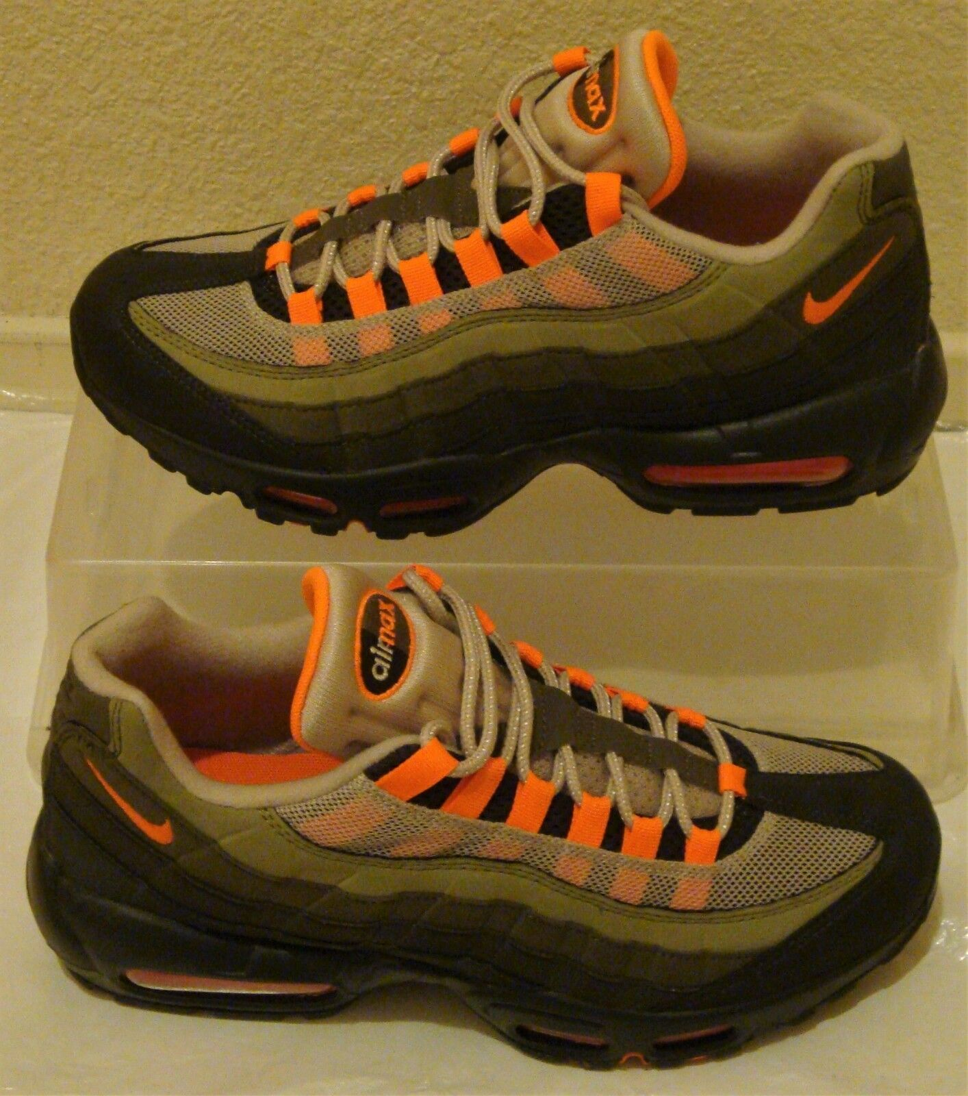 New Nike Air Max 95 OG orange Mens US Size 9