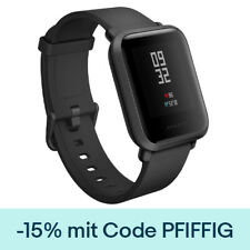 Xiaomi Huami Amazfit Bip Smart Uhr IP68 GPS Global Version Schwarz DE