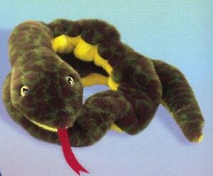 4be1a5f8d18 TY ~ SLITHER ~ THE SNAKE 1999 BEANIE BUDDY - RETIRED -NWT. MINT ...