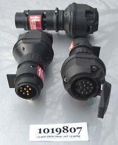 Spannungswandler-Spannungsreduzierer-Beleuchtung-Adapter-LKW-24V-Anhaenger-12V