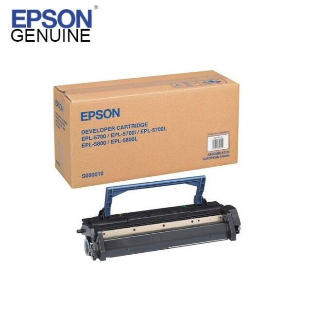 Genuine Epson  S050010 Imaging Cartridge for EPL-5700/5700L/5800/5800/5700i