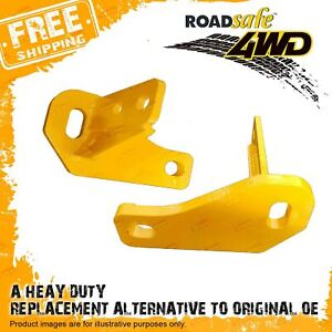 Pair Roadsafe Heavy Duty Tow Points For Nissan Patrol Y62 5000kg