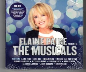 HN268-Elaine-Paige-The-Musicals-2016-new-amp-sealed-CDs