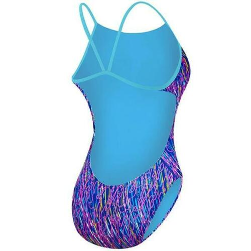 Details about  /TYR Electro Cutoutfit Ladies Swimsuit Ladies Swimming Costume Navy//Multi