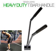 Original Senshi Japan T Bar Row Handle Weight Lifting Trainer Olympic&Standard
