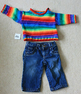 Jeans amp Jumper Age 6 to 12 months various brands - <span itemprop='availableAtOrFrom'>Northallerton, United Kingdom</span> - Jeans amp Jumper Age 6 to 12 months various brands - Northallerton, United Kingdom
