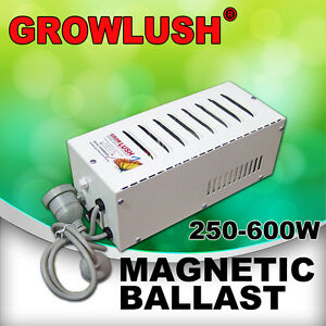Growlush-Magnetic-Ballast-Hydroponics-Grow-Light-250-400-600W-HPS-MH-Plant-Lamps