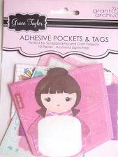 Grace Taylor 'Chicle niña Adhesivo bolsillos y etiquetas